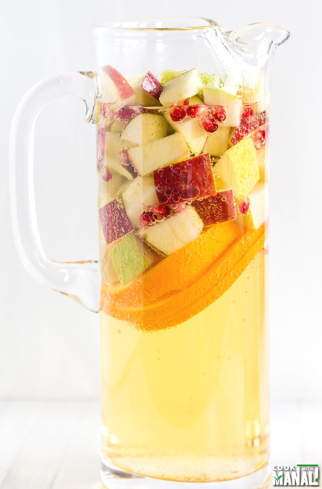 Non Alcoholic Apple Cider Sangria