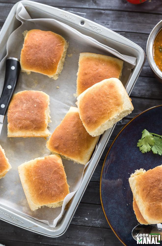 Pav Bread Recipe