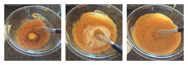 Pumpkin Donuts with Chocolate Ganache Recipe-Step-2