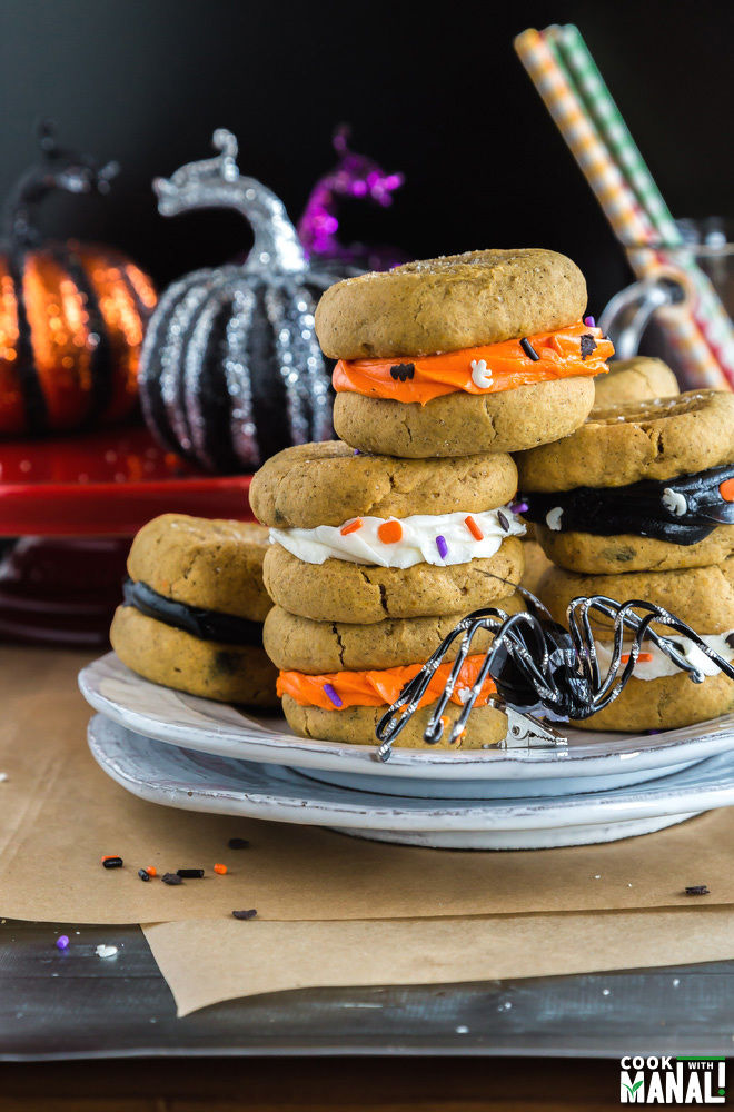 Pumpkin Sandwich Cookies Recipe