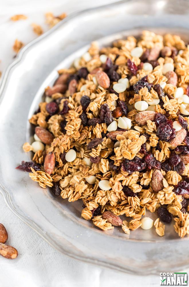 Almond Granola Snack Mix
