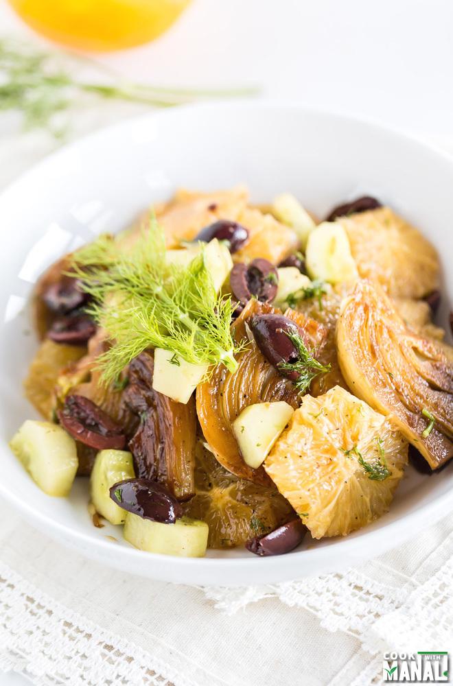 Fennel Orange Olive Salad
