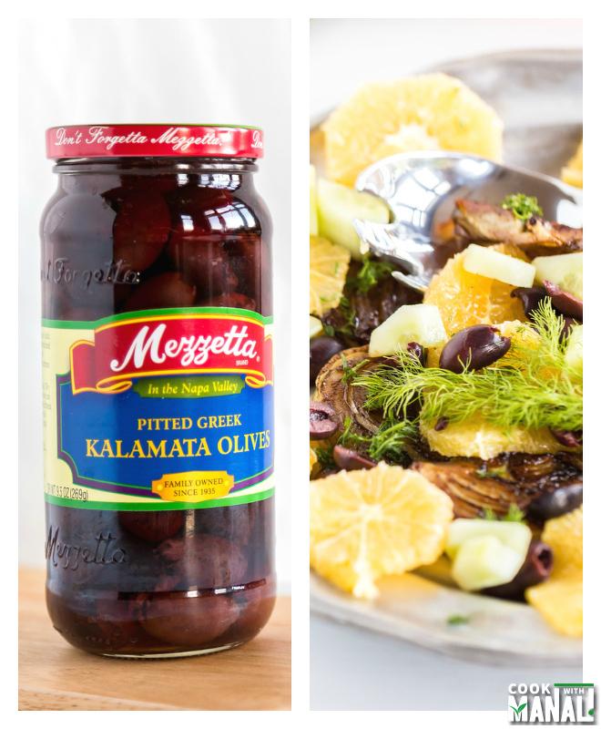 Fennel Orange Salad with Mezzetta Olive
