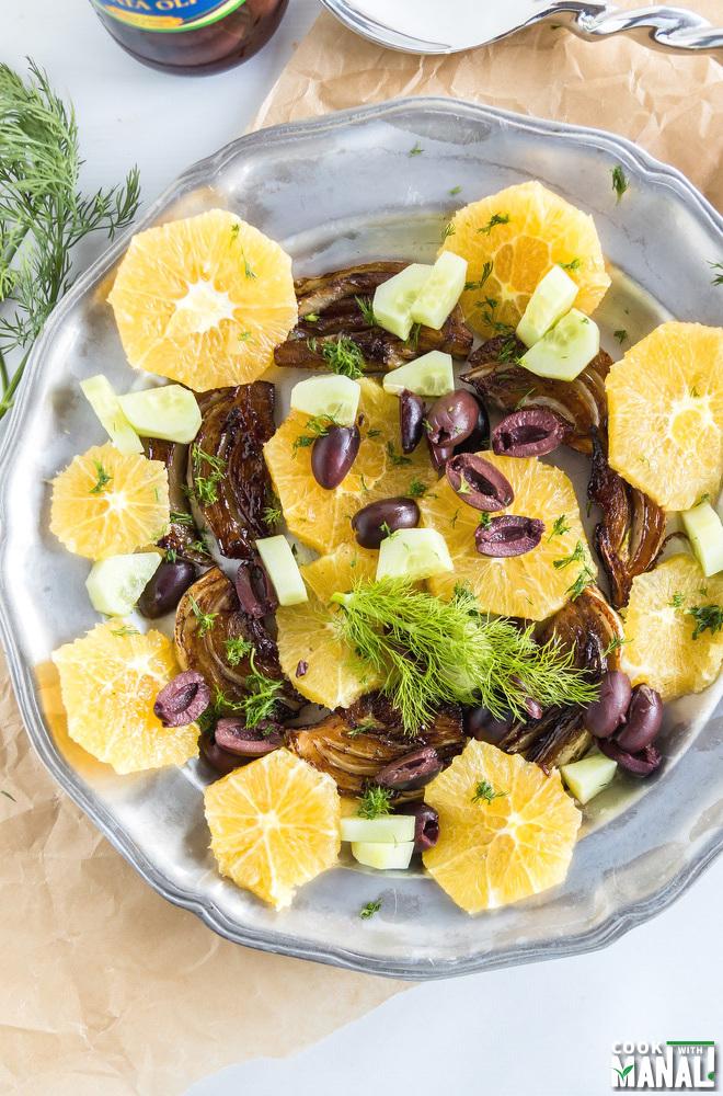 Fennel Orange Salad with Olives