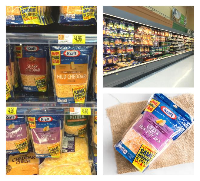 Kraft Natural Shredded Cheese At Walmart