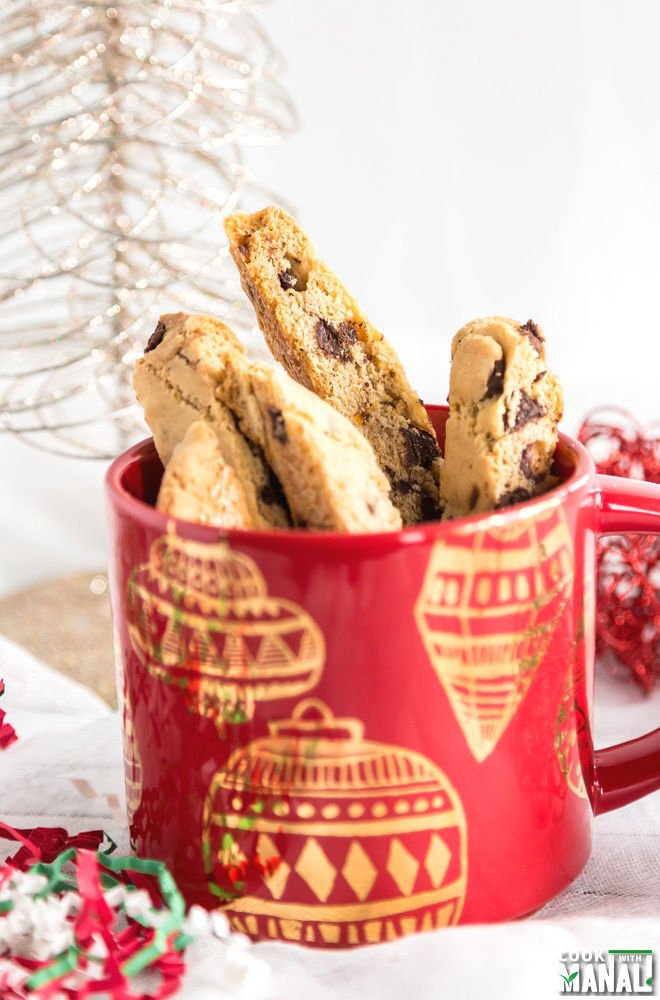 Orange Chocolate Chip Biscotti Large