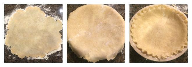 Pecan Streusel Pumpkin Pie Recipe-Step-1