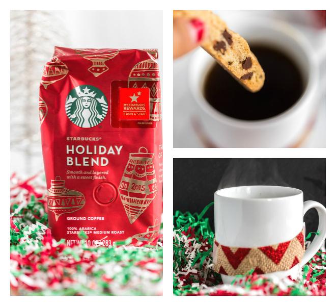 Starbucks Coffee with Biscotti