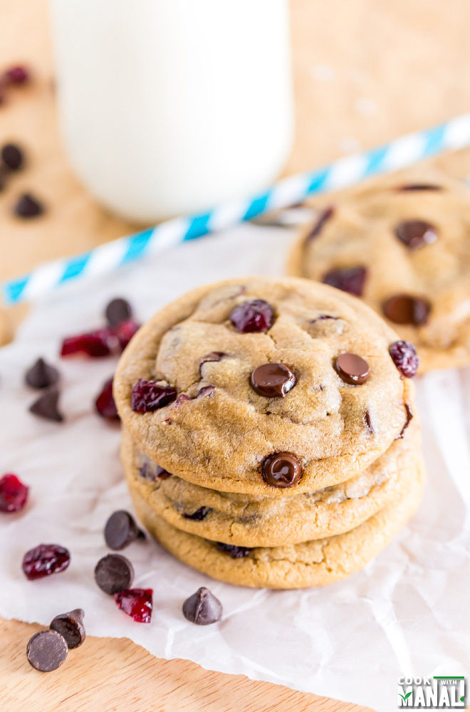 Chocolate Chip Cranberry Cookies