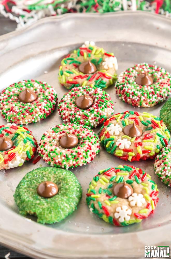 Christmas Kiss Cookie