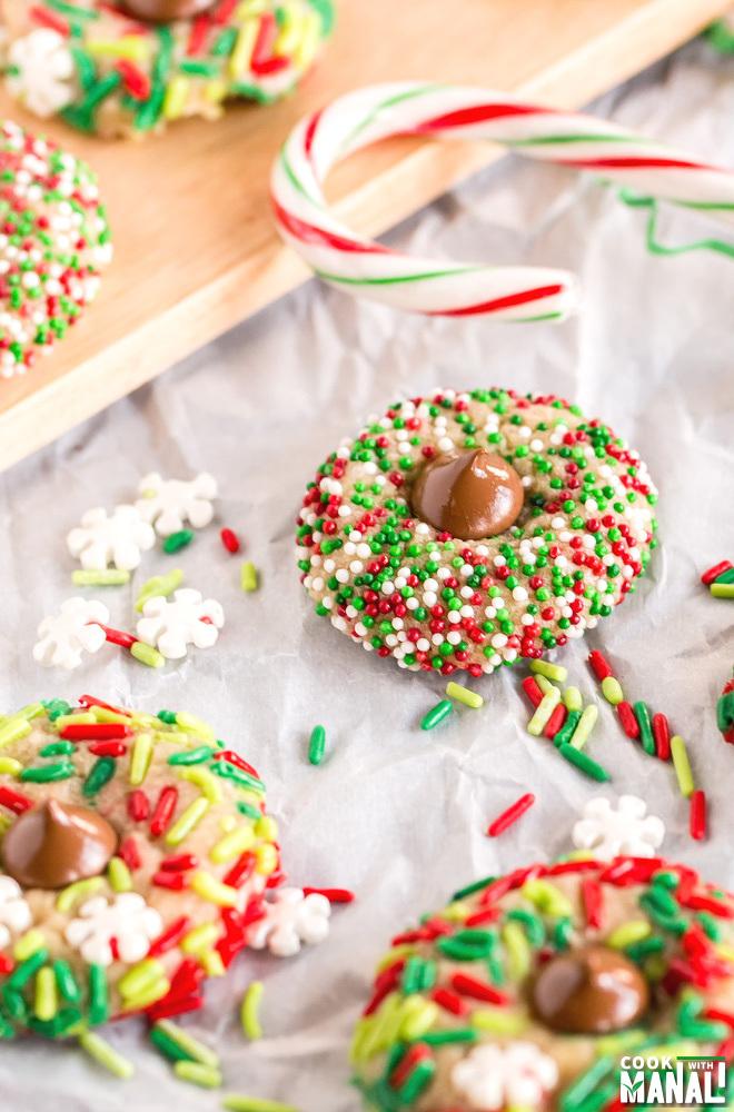 Christmas Kiss Cookies Recipe