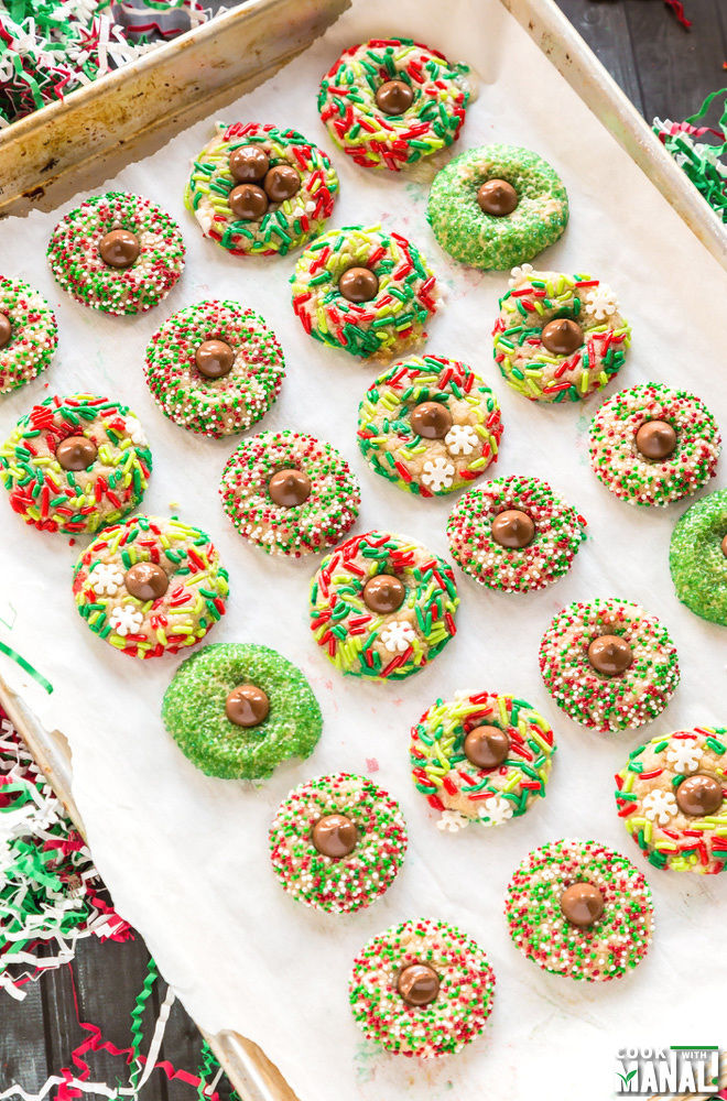 Holidays Kiss Cookies