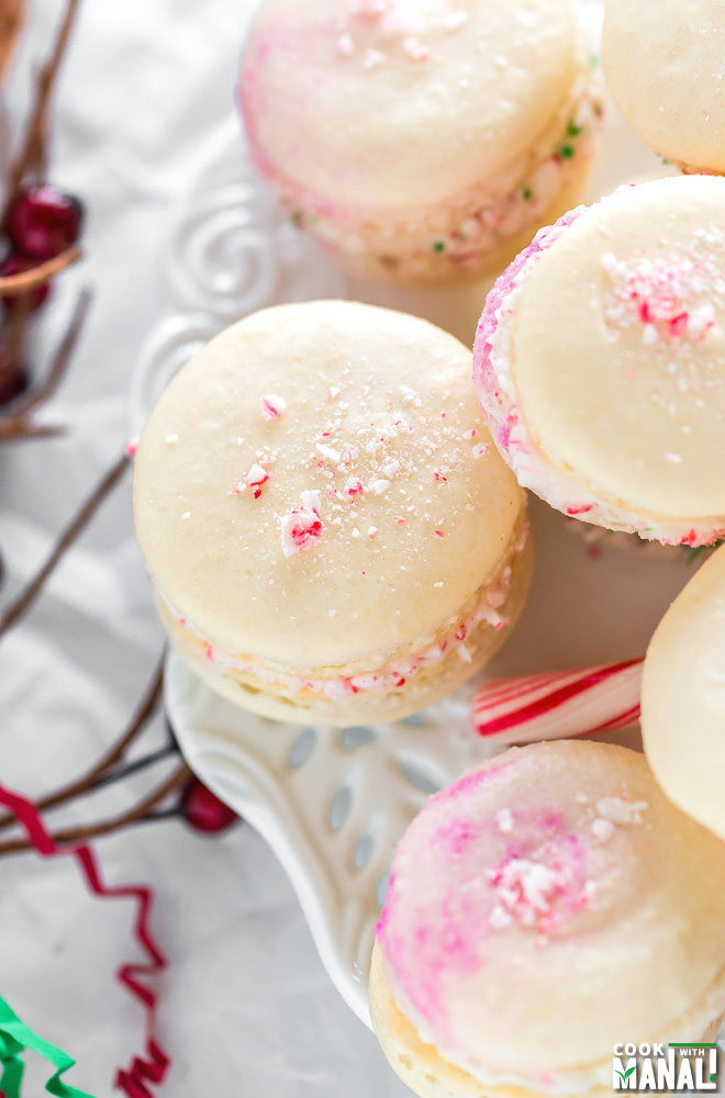 Peppermint Macarons Recipe
