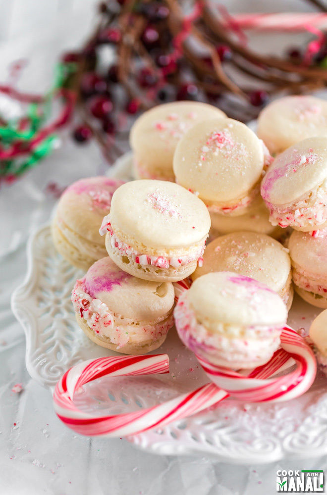 Peppermint Macarons-large