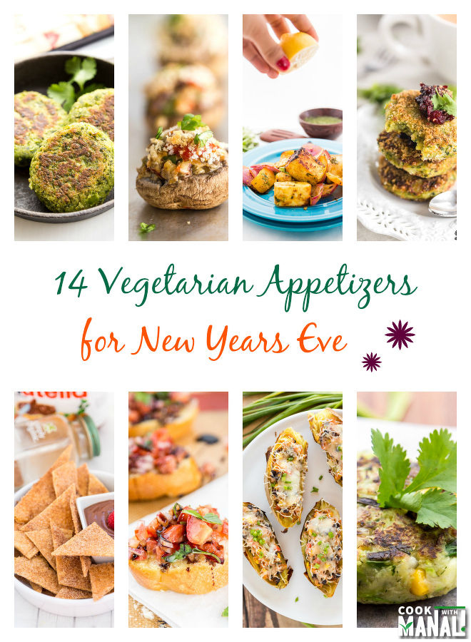 Vegetarian Appetizers for New Years Eve