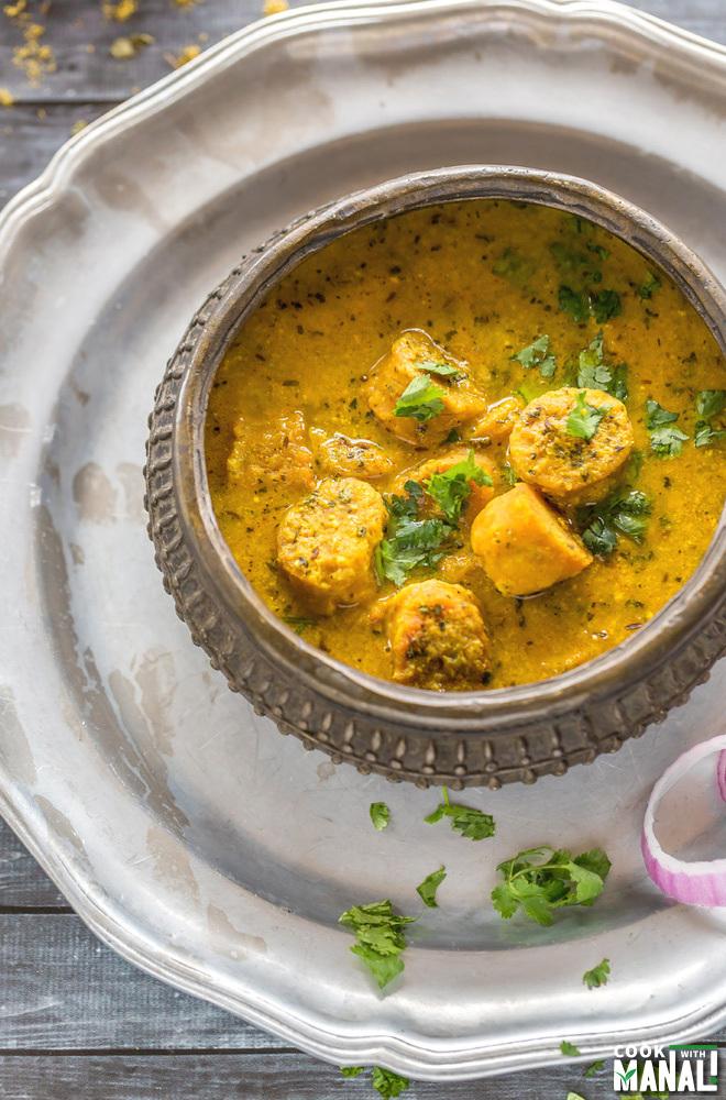 Gatte Ki Sabzi Cook With Manali