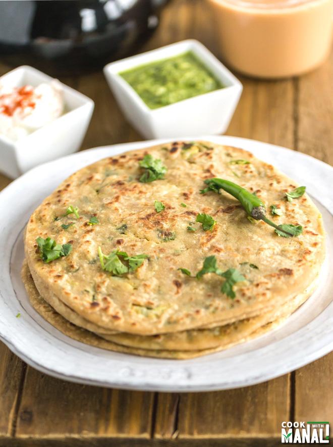Gobi Paratha - Cook With Manali
