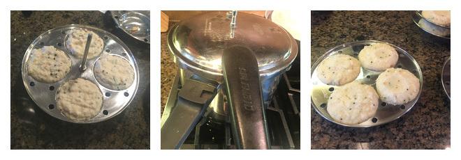 Rava Idli Recipe-Step-4