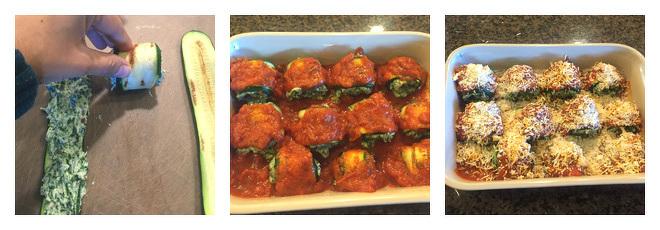 Spinach Zucchini Lasagna Rolls Recipe-Step-3
