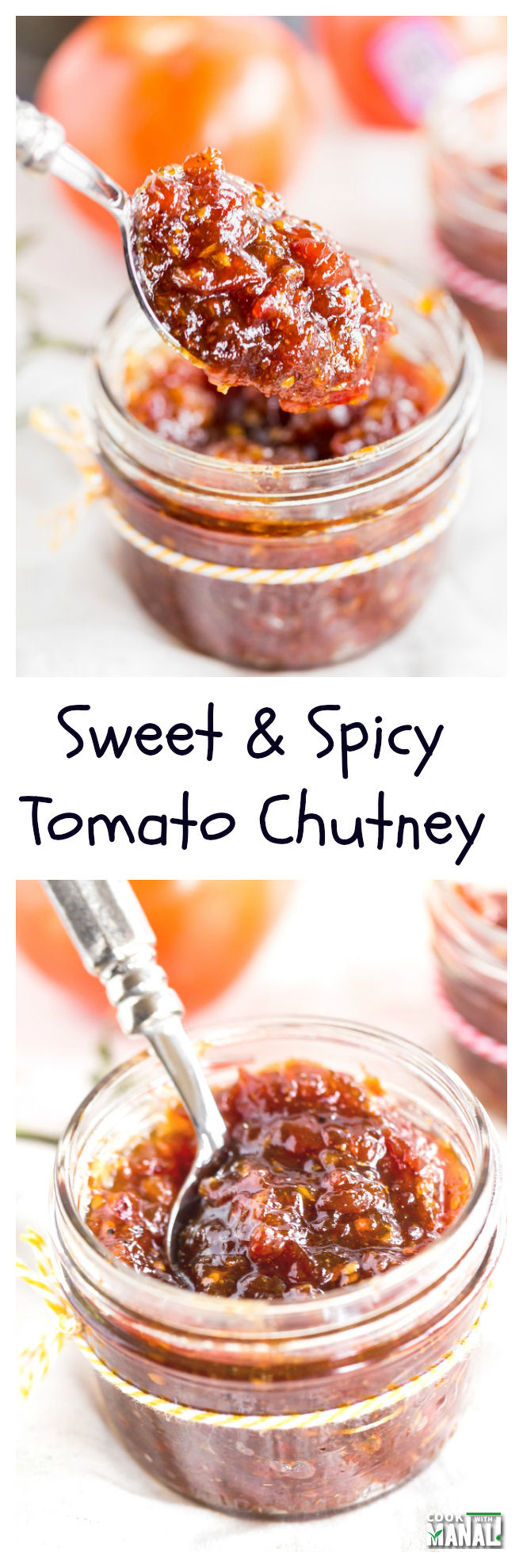 Sweet-and-spicy-tomato-chutney-collage
