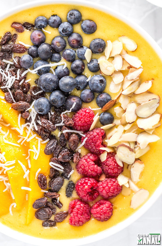 Vegan Mango Smoothie Bowl