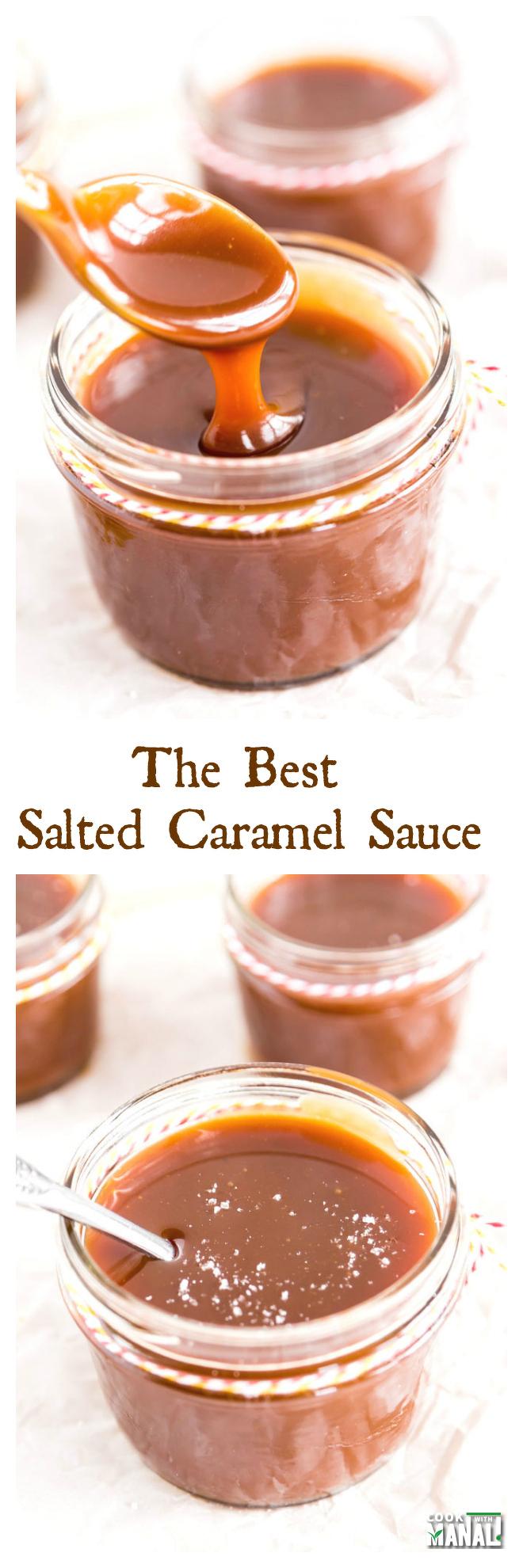 Best Salted Caramel Sauce Collage