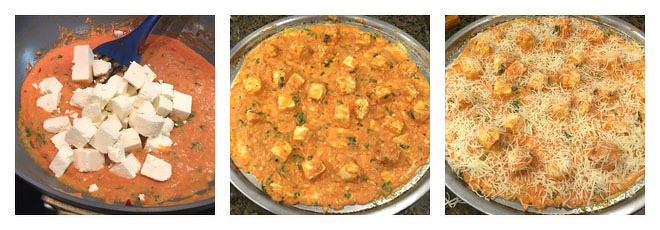 Butter Paneer Pizza Recipe-Step-3