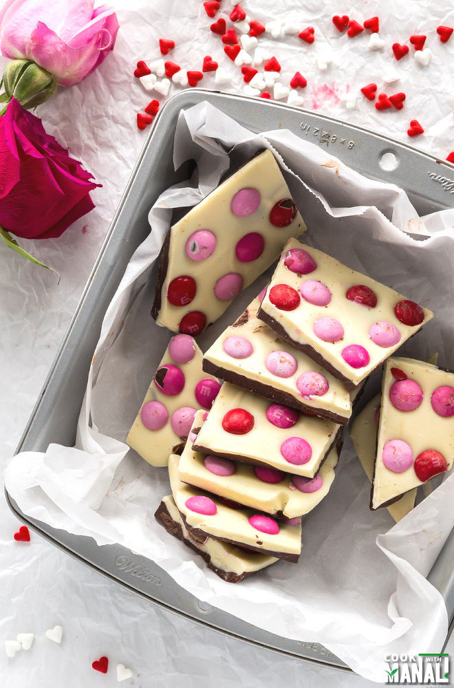 Chocolate Valentines Day Bark