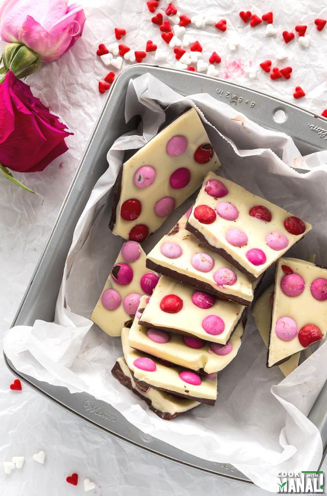 Chocolate Valentines Day Bark
