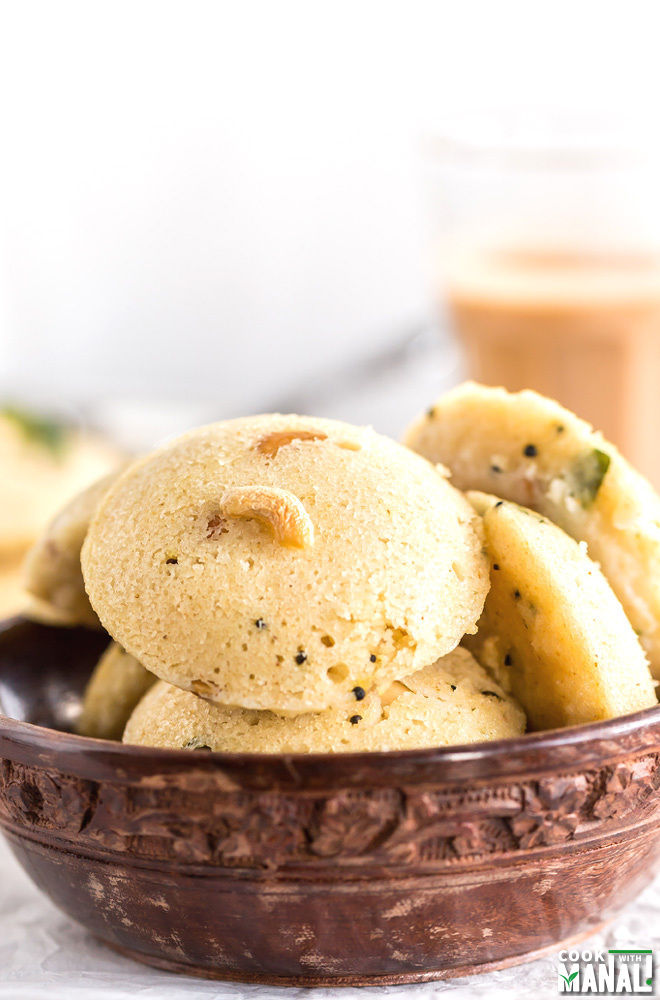Easy Rava Idli Recipe