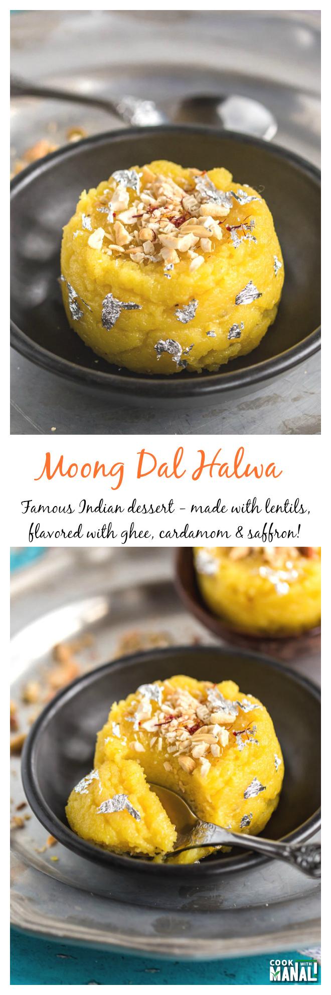 Moong Dal Halwa Collage