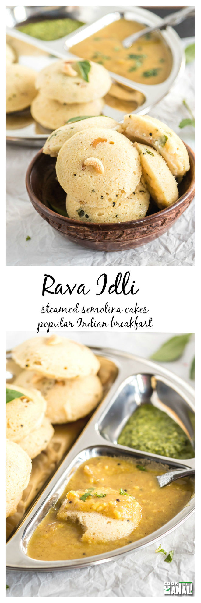 Rava Idli Collage