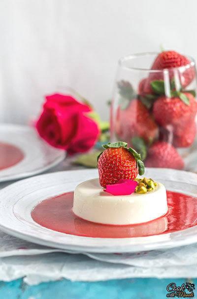 Rose-Strawberry-Panna-Cotta