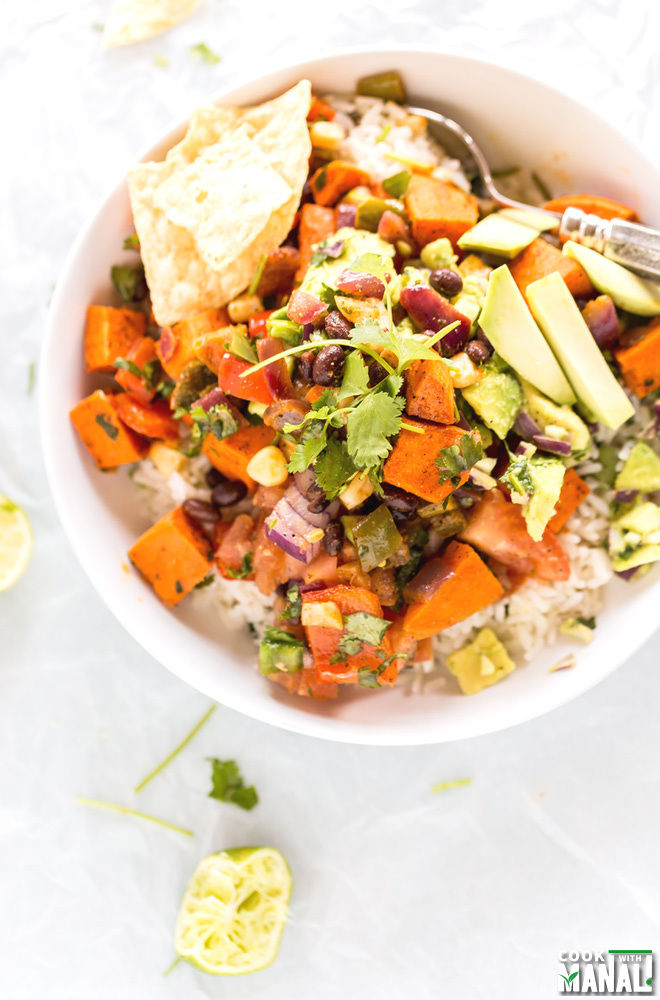 Sweet Potato Burrito Bowl Recipe