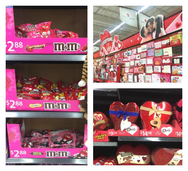 Valentines Day at Walmart