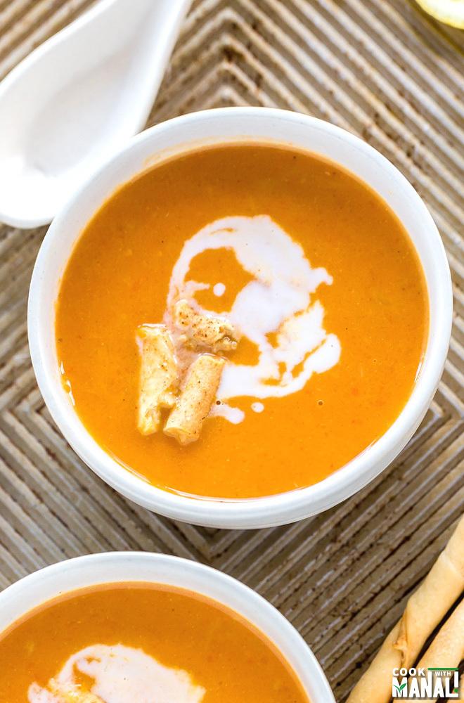 Vegan Spiced Carrot Soup