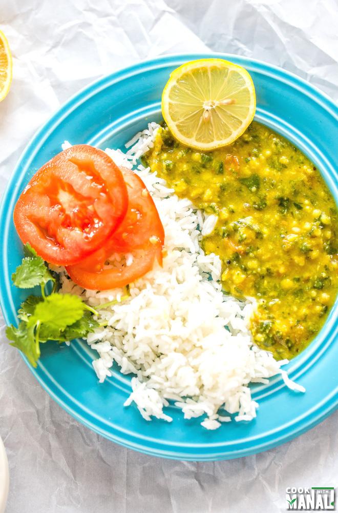 Vegan Spinach Dal