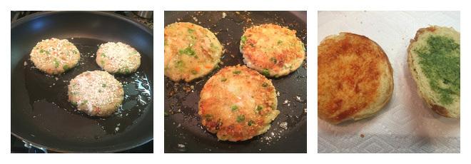 Aloo Tikki Burger Recipe-Step-4