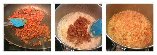 Carrot Cake Oatmeal Recipe-Step-2