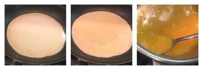 Coconut Orange Crepes-Recipe-Step-2