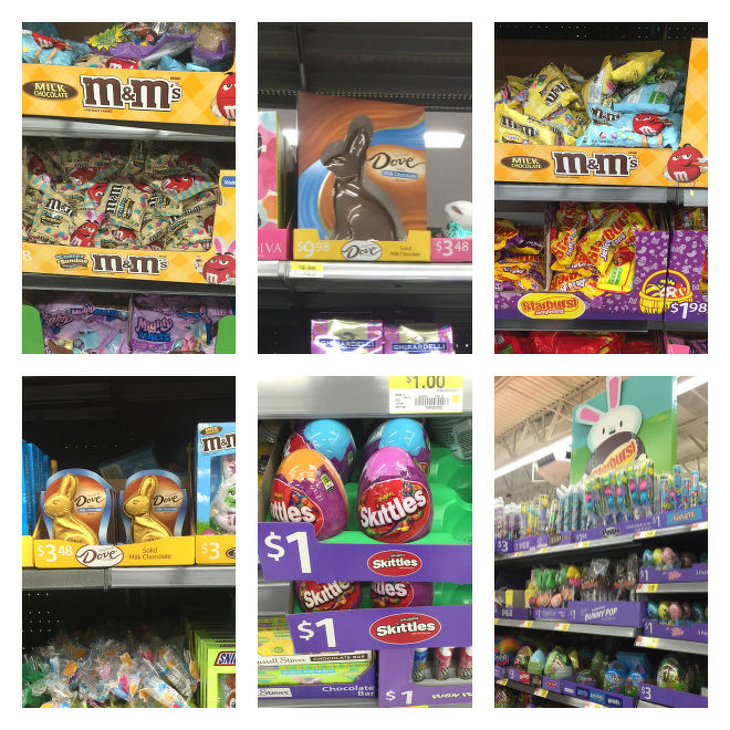 Easter Products at Walmart
