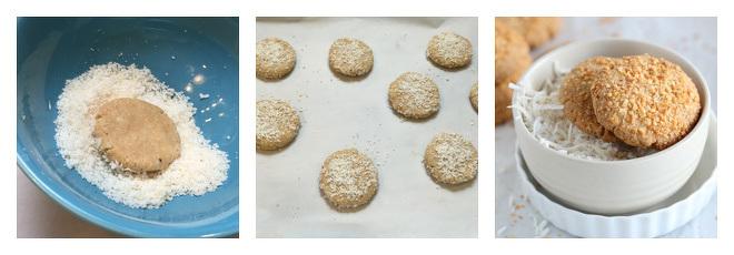 Eggless Coconut Cookies Recipe-Step-3