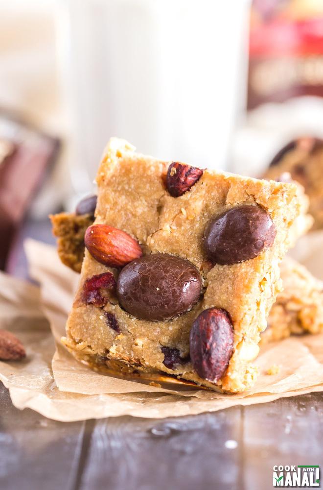 Healthy Fruit Nut Bars