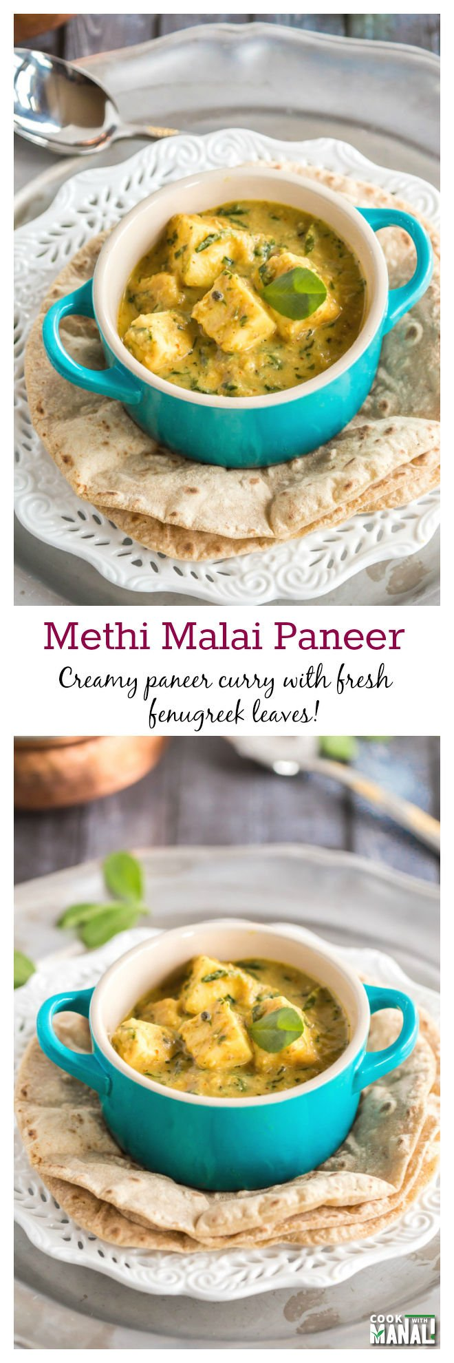 Methi Malai Paneer Collage