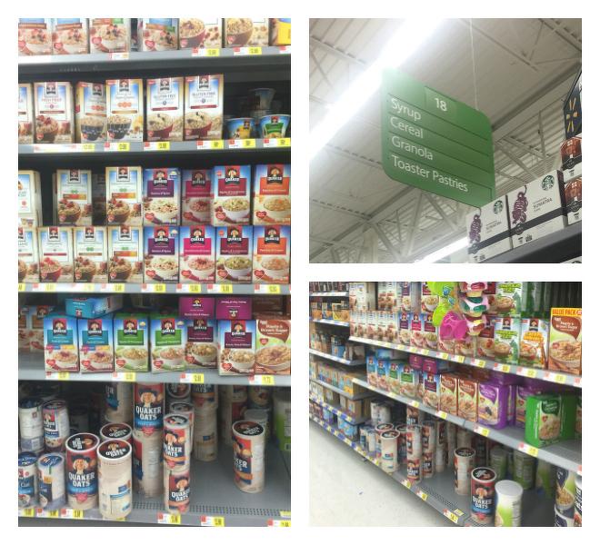 Quaker Oats at Walmart