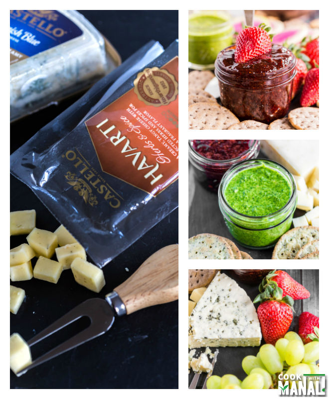 Spring Cheese Board With Castello