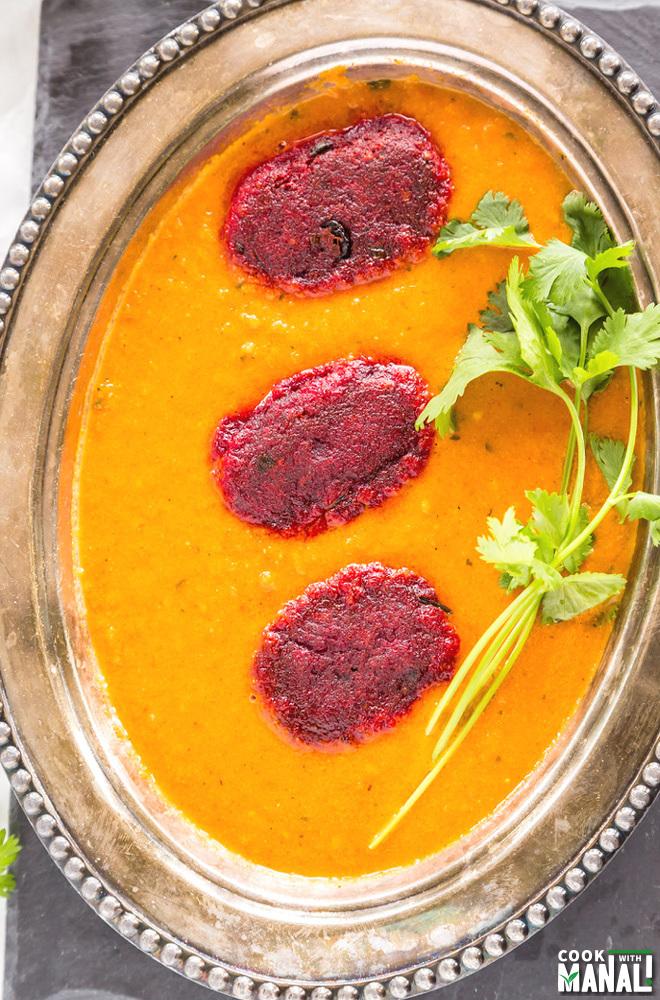 Beetroot Kofta Curry Recipe