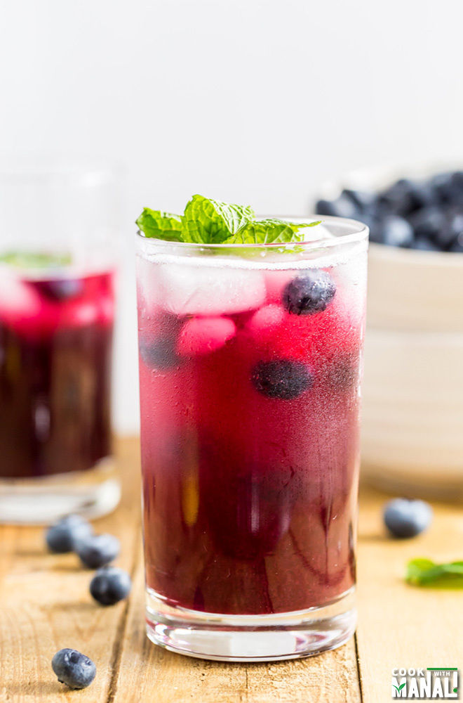 Blueberry Ginger Cooler Recipe
