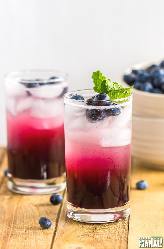 Blueberry Ginger Cooler