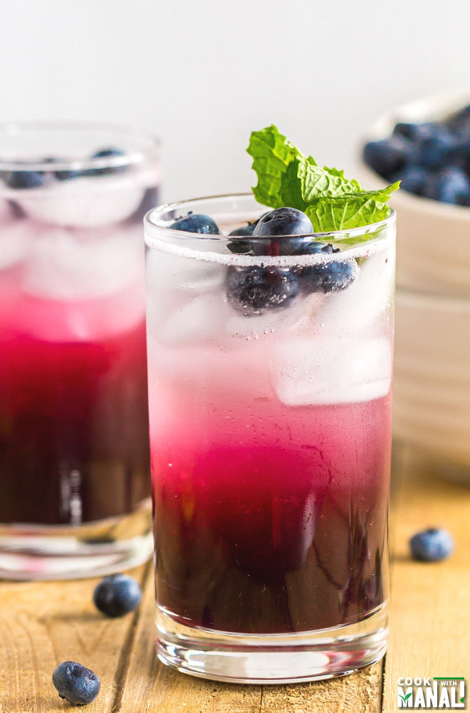Blueberry Mocktail